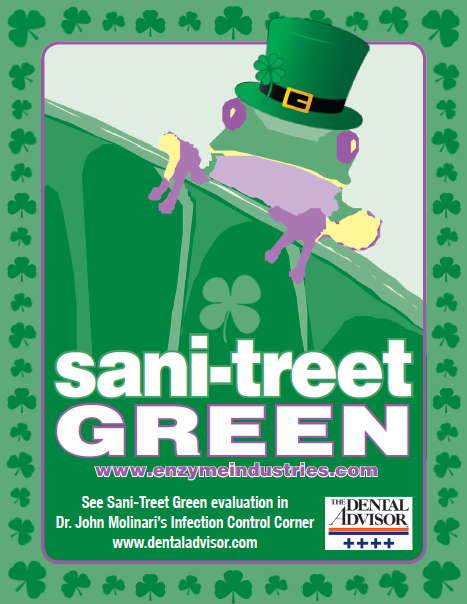 March Sanitreet Green Ad